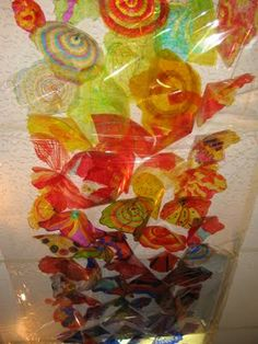 Dale Chihuly inspired artwork