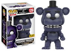 Five Nights at Freddy's: Shadow Freddy Pop figure by Funko, Hot Topic exclusive