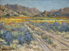 Spring Namaqualand by Hugo Naudé Spanish Painters, French Impressionist Painters, Artist At Work, Western Art, Dutch Painters, Painting, Art, Italian Painters, African Artists