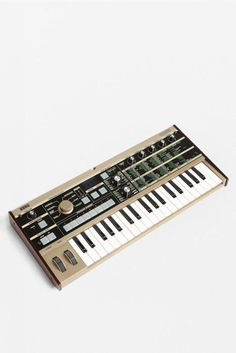Micro Korg — One of my favorite compact synths.