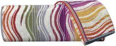 Missoni Home Peggy Towel - 159 - Bath Sheet on shopstyle.com.au Bath Sheets, Missoni, Towel, Blanket, Bathroom, Crochet, Washroom, Full Bath, Ganchillo