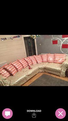 Wrap sofa