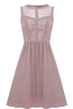 Lace Bodice Soft Prom Dress, Warehouse