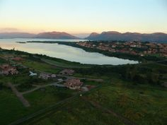View of the Hartbeespoort from our hot air balloon
