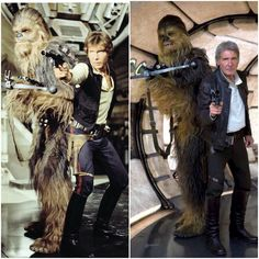 1977 to 2015. 38 years I've watched Star Wars. I love it so much