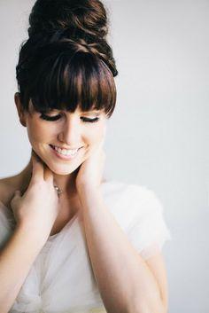 Bridal hairstye