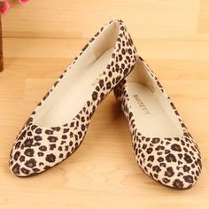 2013 Fashion Womens Flats Leopard Print Sexy Flats Shoes for Woman Ladies Pointed Flats Low Heel Casual Shoes Sapatos . Princess Shoes, Leopard Shoes, Casual Heels, Loafers For Women, Shoes Women, Ladies Shoes, Fashion Flats, Boat Fashion, Fashion 2017