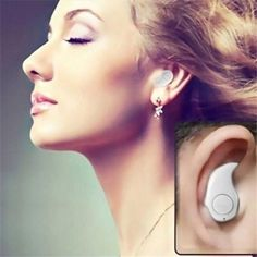 Buy Mini Invisible Ultra Small Bluetooth Stereo Earbud Headset with Microphone Support Hands-Free Calling for Smartphones and Perfect for Listening To Music At Work at Wish - Shopping Made Fun