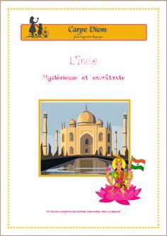ACTIVITE - L'Inde, mystérieuse et envoûtante - Lapbook de Carpe Diem