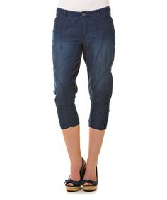 Another great find on #zulily! Washed Isalee Capri Pants - Women & Plus #zulilyfinds