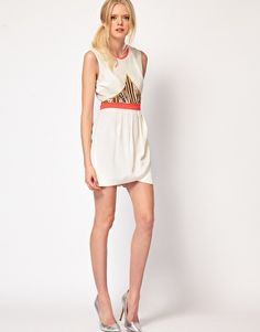 Enlarge Sass And Bide Layer Of Love Dress With Embellished Panel (LOVE THIS)