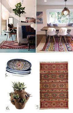 modern southwest decorating - Google Search