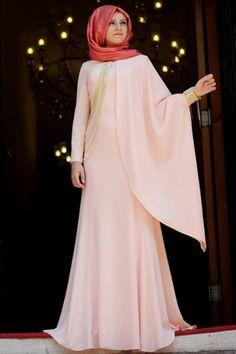 Gelinlik ve Saç Modelleri: 2016 Tesettür Abiye Modelleri,En Güzel Kapalı Elbise Modelleri
