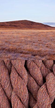 Hebridean Yarn Colour Mountain Hare