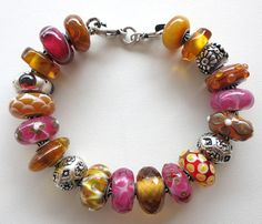 30 day challenge 2015 - Day 8 - Trollbeads Bracelet Design by Cathy at Tartooful