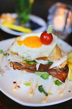 Clubsandwich @ Villa Westend Villa, Eggs, Breakfast, Food, Morning Coffee, Essen, Egg, Meals, Fork