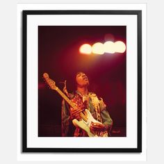 Jimi Hendrix Framed, $159, now featured on Fab.