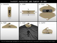 """""""CULTERA PACKAGING AND HANGER"""" Design & Branding for T-SHIRT PACKAGING by Votan Leo Burnett"""