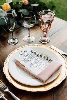 wedding table - photo by Plum and Oak http://ruffledblog.com/a-california-garden-wedding-with-romantic-florals