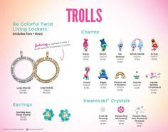 Origami Owl. New Trolls collection! Get yours here: