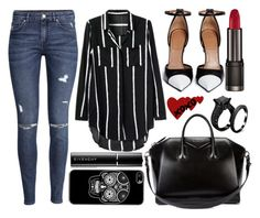 street style by sisaez on Polyvore featuring polyvore, fashion, style, H&M and Givenchy