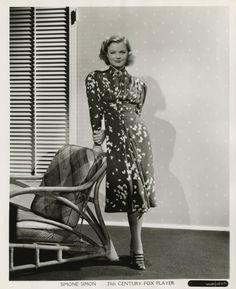 George Hurrell - Simone Simon (1937)