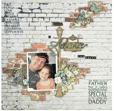 KaiserCraft - Base Coat Collection - I Adore You Daddy