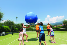 A true test of balance! Which member of the family will be best at keeping the massive ball in the air? True Test, Free Activities, Family Holiday, Program Design, Campsite, Seasons, Fun, Kids, Camping