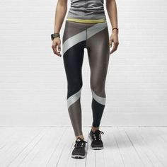 nike fitness clothes for women | source Nike Engineered Print Women's Running Tights $130.00