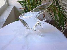 "6"" Crystal Hand Made Angel Fish Desk Figurine NikNak"