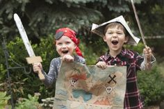 The grandchildren will love this outdoor treasure hunt, and grandparents don't even have to come up with the clues.