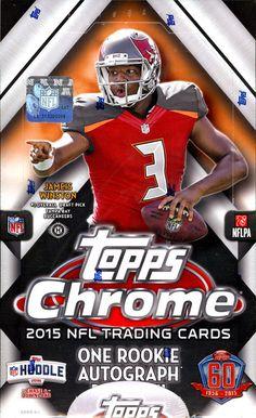 Topps Chrome Football - 2015 NFL Trading Cards - Hobby Box