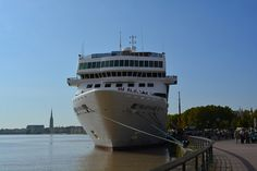 #Stopover of the cruise ship MS BRAEMAR // #Bordeaux #Cruises