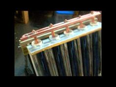 SOLAR TUBES HEAT PIPE EXCHANGER RICH ALLEN - YouTube. Excellent use of spare piping although I'd try to skip the Home Depot trips :)