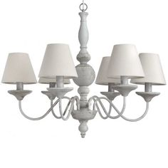 Chandelier with shades £150