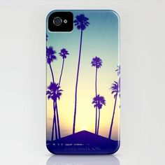 Palm tree phone cover