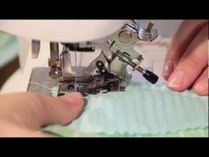 How To Use A Ruffler Foot - YouTube