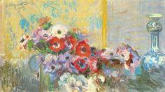 Leon Jan Wyczółkowski - Flowers (1909)