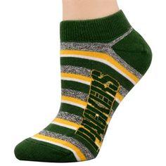 Green Bay Packers Ladies Team Stripes Socks