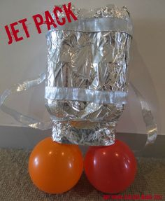 Boy Mama: Jet Pack...An Unintentional Post