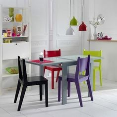 Ideias e inspirações para usar pendentes coloridos na decoração da casa.