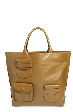 Marni Multipocket Leather Tote | Nordstrom