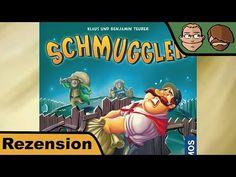 Schmuggler – Brettspiel – Regeln und Review #153 | Hunter & Cron