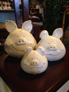 These little piggys were at Real Deals