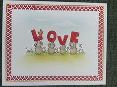 Handmade card - front