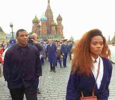 Mike Tyson & Robin Givens