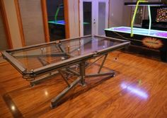 "$60,000 Glass Pool Table Brings a Whole New Meaning To The Word ""Break"""