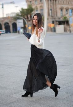 I love long skirts
