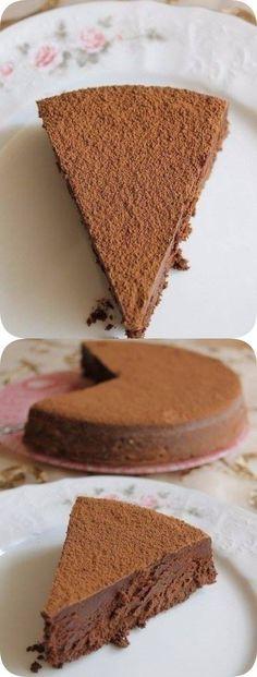 Трюфель Евы. Очень шоколадно, очень нежно, просто тает! Печь надо однозначно, чтобы хоть раз почувствовать вкус этого лакомства. Baking Recipes, Cake Recipes, Dessert Recipes, Creative Cakes, Creative Food, Tasty Dishes, Food Dishes, Best Chocolate Desserts, Easy Cake Decorating
