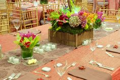 Henry Clay...tablescapes..from floral to linens..